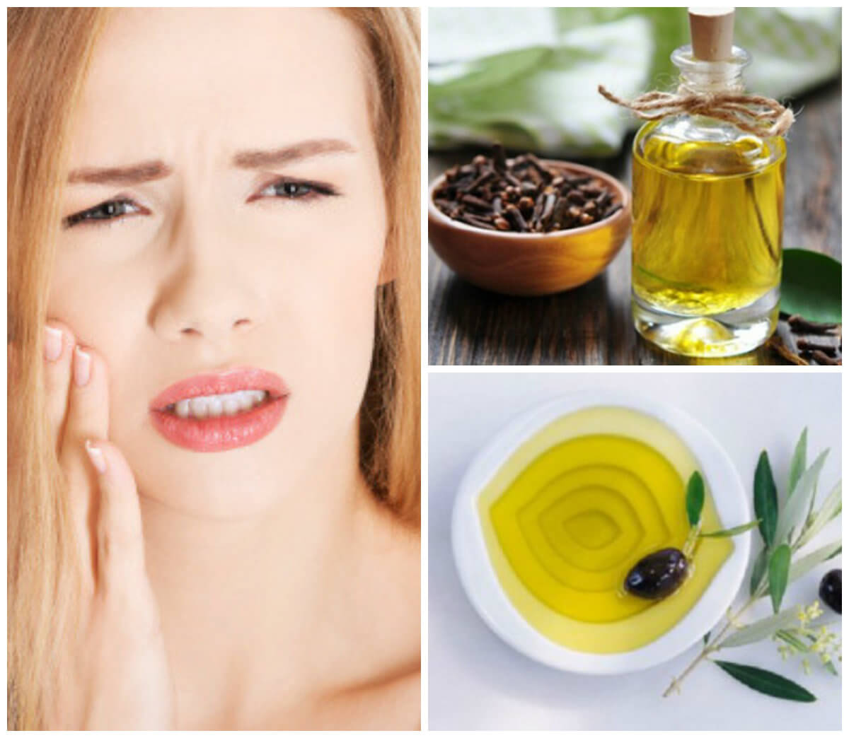 Cách chữa đau nhức răng hiệu quả tại nhà từ dầu ô-liu và đinh hương