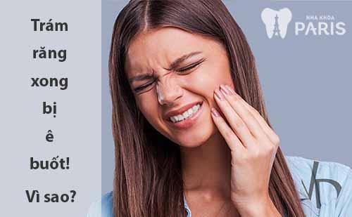 Trám răng xong bị ê nhức - Nguyên nhân & cách điều trị hiệu quả nhất 1