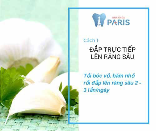 Top 3 cách chữa sâu răng bằng tỏi tại nhà hiệu quả nhất 1