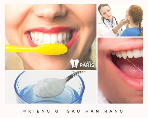 Nha sĩ chia sẻ: Nên kiêng gì sau khi hàn răng là tốt nhất 3