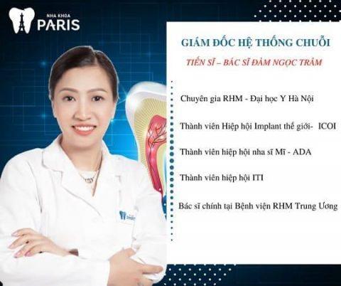 Bác sỹ tại Nha khoa Paris được đào tạo bài bản và là thành viên của các hiệp hội nha khoa uy tín trên thế giới.